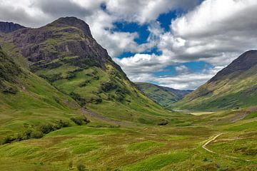 Glen Coe Valley in de Schotse Hooglanden van Jürgen Wiesler