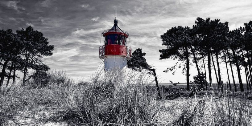 Leuchtfeuer Hiddensee van Joachim G. Pinkawa