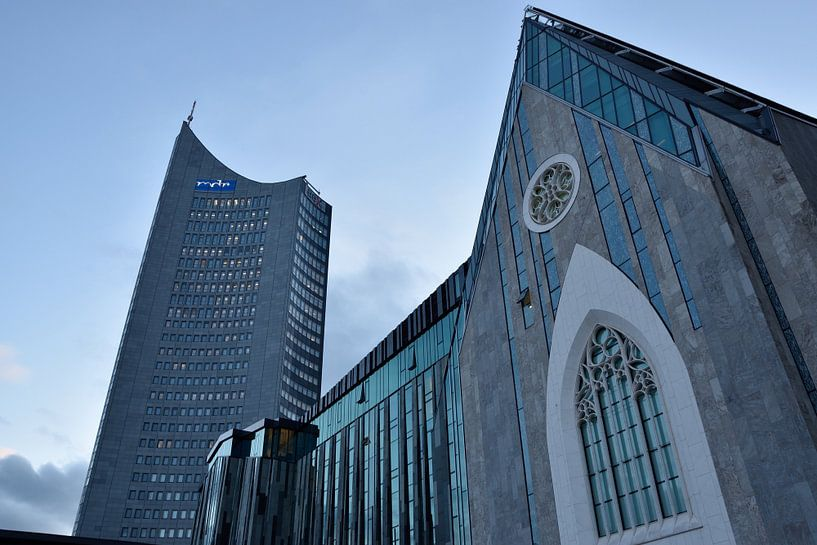 Panoramatower - University of Leipzig - Paulinum van Marcel Ethner