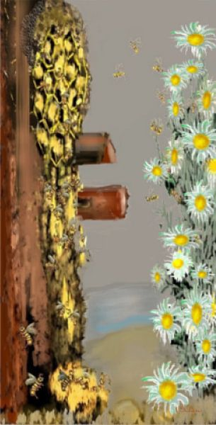 Chamomile and Honey von Annaluiza Dovinos