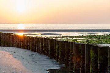Sonnenuntergang Ameland von Marian Waanders