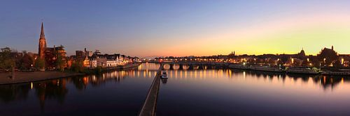 Skyline Maastricht van Pascal Lemlijn