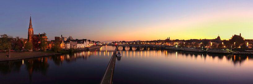 Skyline Maastricht von Pascal Lemlijn