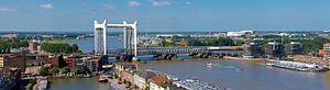Panorama Hefbrug Dordrecht