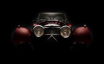 1936 Jaguar SS100 Roadster van Thomas Boudewijn