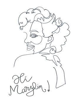 Hi Marylin! von christine b-b müller