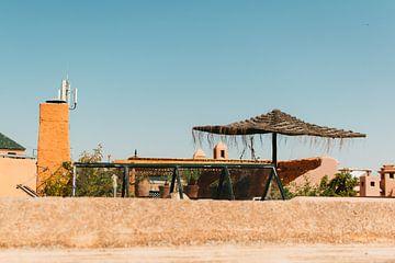 Marrokko marrokko marrakech dachterrasse ansicht sommer von Lisanne Koopmans