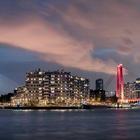 Rotterdam Noordereiland panorama van Martijn Kort