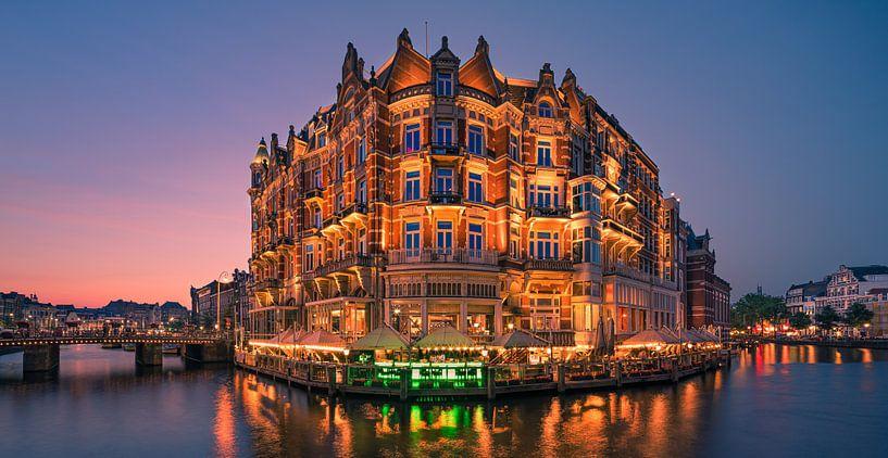 Hotel L'Europe, Amsterdam, Niederlande von Henk Meijer Photography