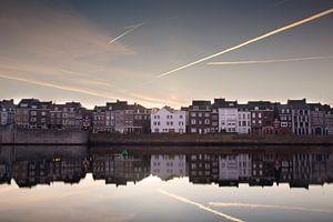 Maastricht Wyck zonsopkomst