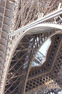 Blick auf den Eiffelturm von YVON Bilderbeek