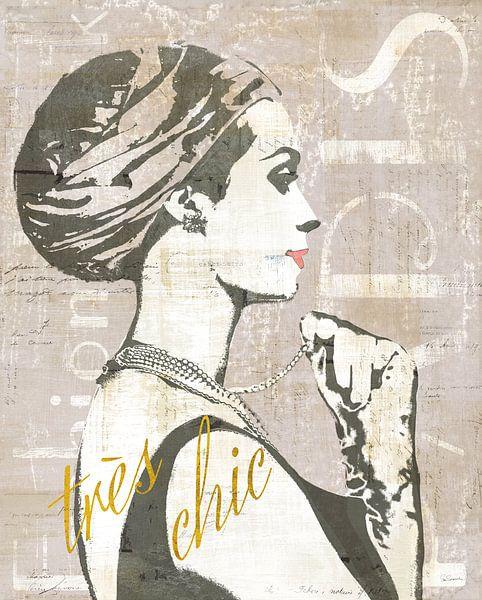 Fashion Week de Paris III Screenprint, Sue Schlabach sur Wild Apple