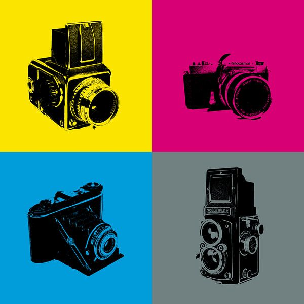 Camera in kleur van Rob van der Teen