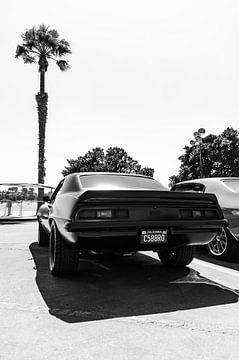 Schwarz-Weiß-Foto Chevrolet Camaro von Bram van den Broek