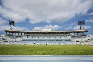 Das Estadio Panamericano (Stade Panaméricain de La Havane) ist ein multifunktionales Stadion. von Tjeerd Kruse
