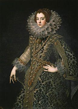 Koningin Elizabeth van Bourbon van Diverse Meesters
