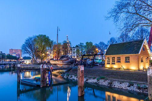 Scheephelling Oude haven Rotterdam