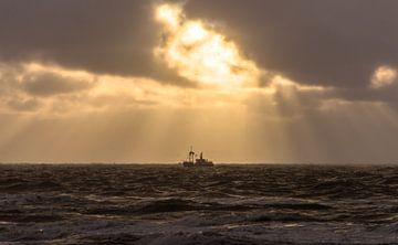 Najaars Storm 001 van Alex Hiemstra