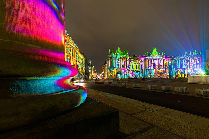 Bebelplatz Berlin - La nuit dans une lumière spéciale sur Frank Herrmann