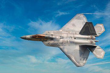 Lockheed Martin F-22 Raptor sur Gert Hilbink