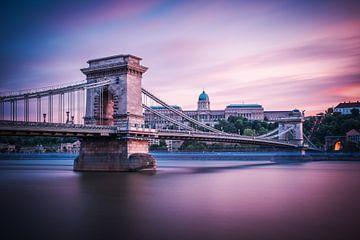 Budapest - Chain Bridge van Alexander Voss