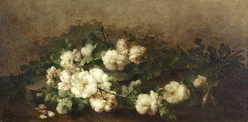 Nature morte à la guitare et aux roses, Margaretha Roosenboom sur
