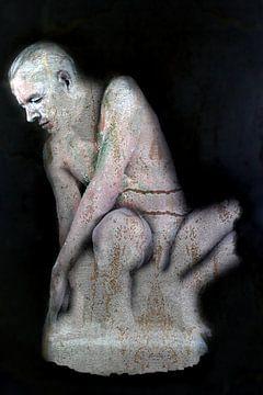 stenen beeld van Cor Heijnen