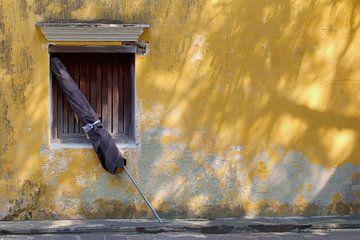 Verwitterte Fassade, Hoi An von Inge Hogenbijl
