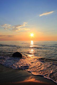 Ein toller Abend van Ostsee Bilder
