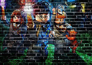 LEGO Harry Potter Graffiti 2 von Bert Hooijer