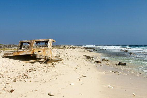 scheepswrak bij klein Curacao no. 1