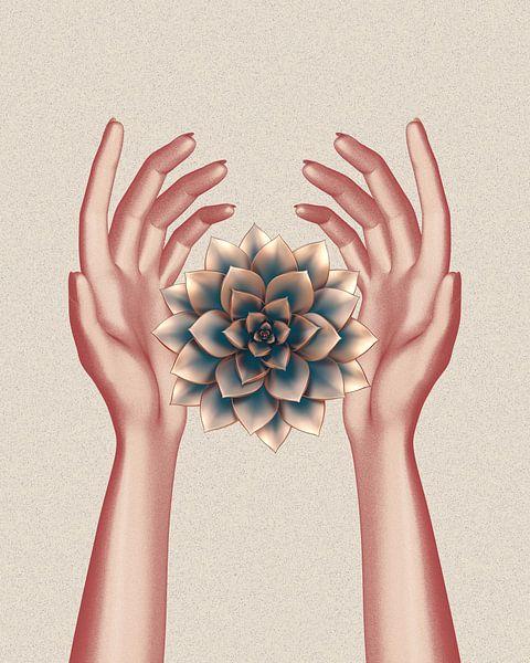 rosegoldene Hände und saftig von Klaudia Kogut