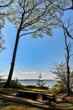 Hoge kust bij Lietzow, Great Jasmund Bodden van GH Foto & Artdesign