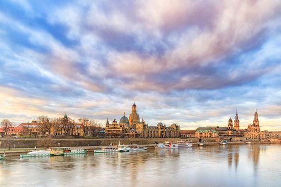 Dresden bei Tagesanbruch