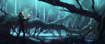 Folgen Sie den Glühwürmchen von Rocky Schouten