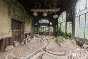 Orientalischer Garten von Niels Van der Borght