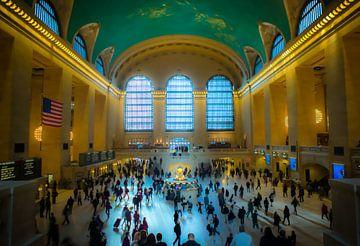 Grand Central Station, New York van Maarten Egas Reparaz
