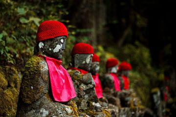 Jizo Bosatsu beelden van Marieke de Lange