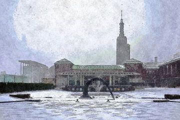 Winterbeeld Boymans van Frans Blok