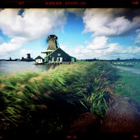 Pinhole photo Dutch Windmills sur Roelof Foppen