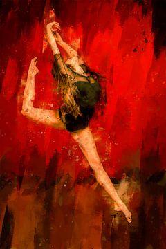 Balletdanser van Peter Roder