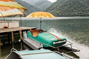 Bosnië :: Lake Plivsko Jezero van Steve Van Hoyweghen