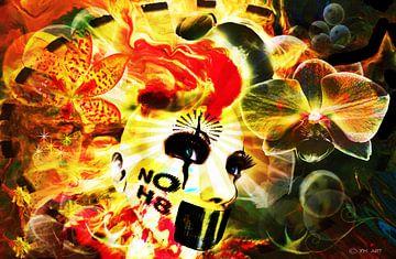 Retro art - NOH8 van