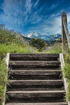 Treppe zum Himmel von Yvonne van den Hatert