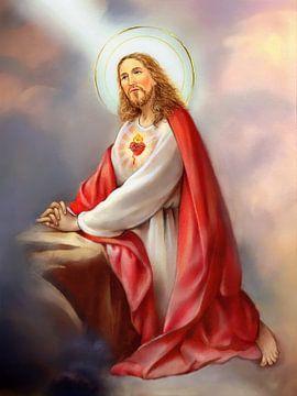 Het feest van het heilig Hart van Jezus sur