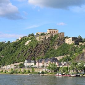 Koblenz mit Festung Ehrenbreitstein von Christine aka stine1