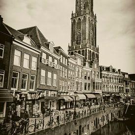 Vismarkt en de Domtoren van Jan van der Knaap