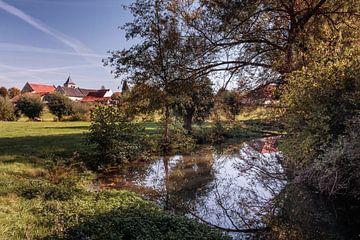 Rivier de Geul @ Oud-Valkenburg van Rob Boon