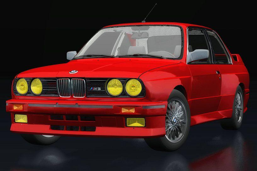 BMW M3 E-30 1991 driekwart zicht van Jan Keteleer