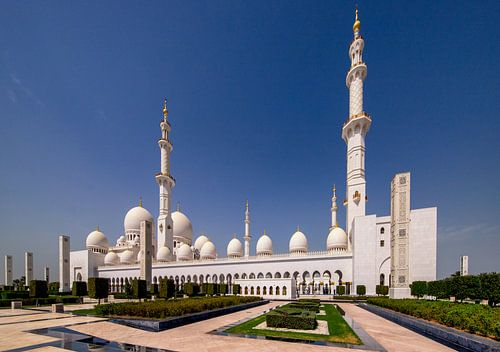 Sheikh Zayed Mosque - Abu Dhabi van